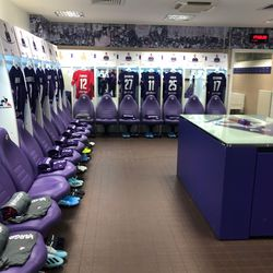 Welcome to the Fiorentina locker room