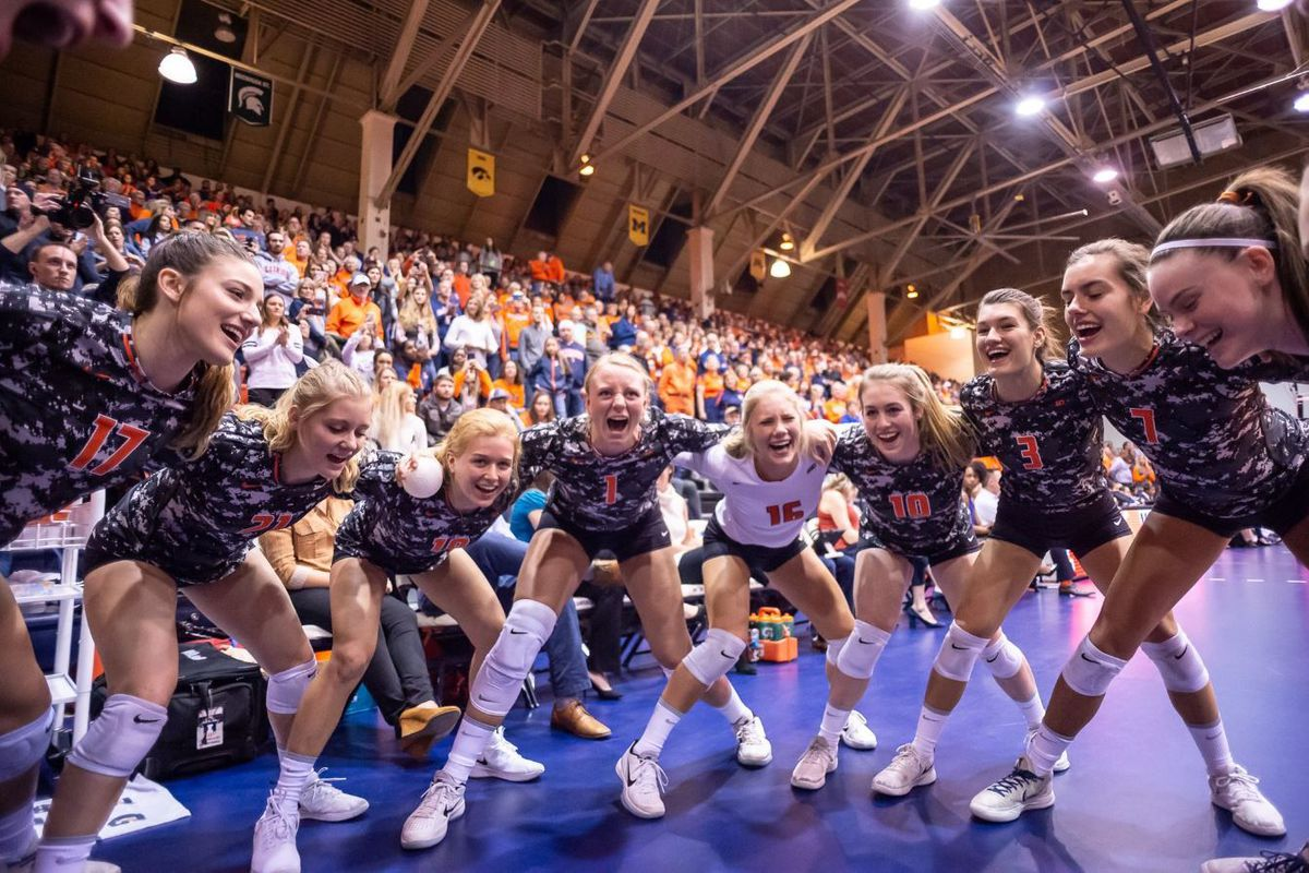 2019 Illinois Volleyball Roster Preview Sophomores The Champaign Room