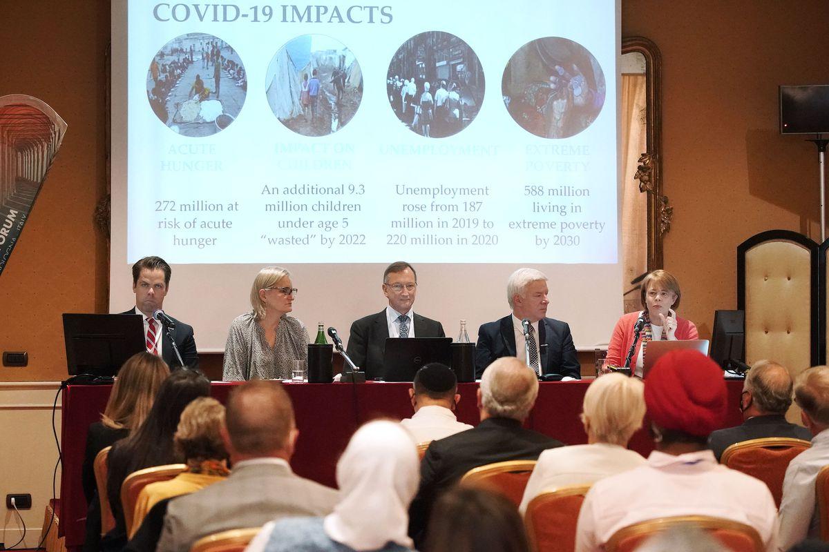 G20 Interfaith Forum featuring Sister Sharon Eubank.