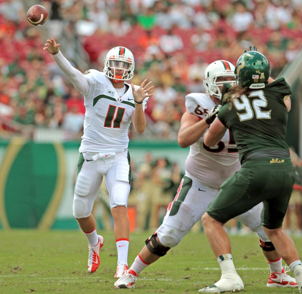 Miami v South Florida Football