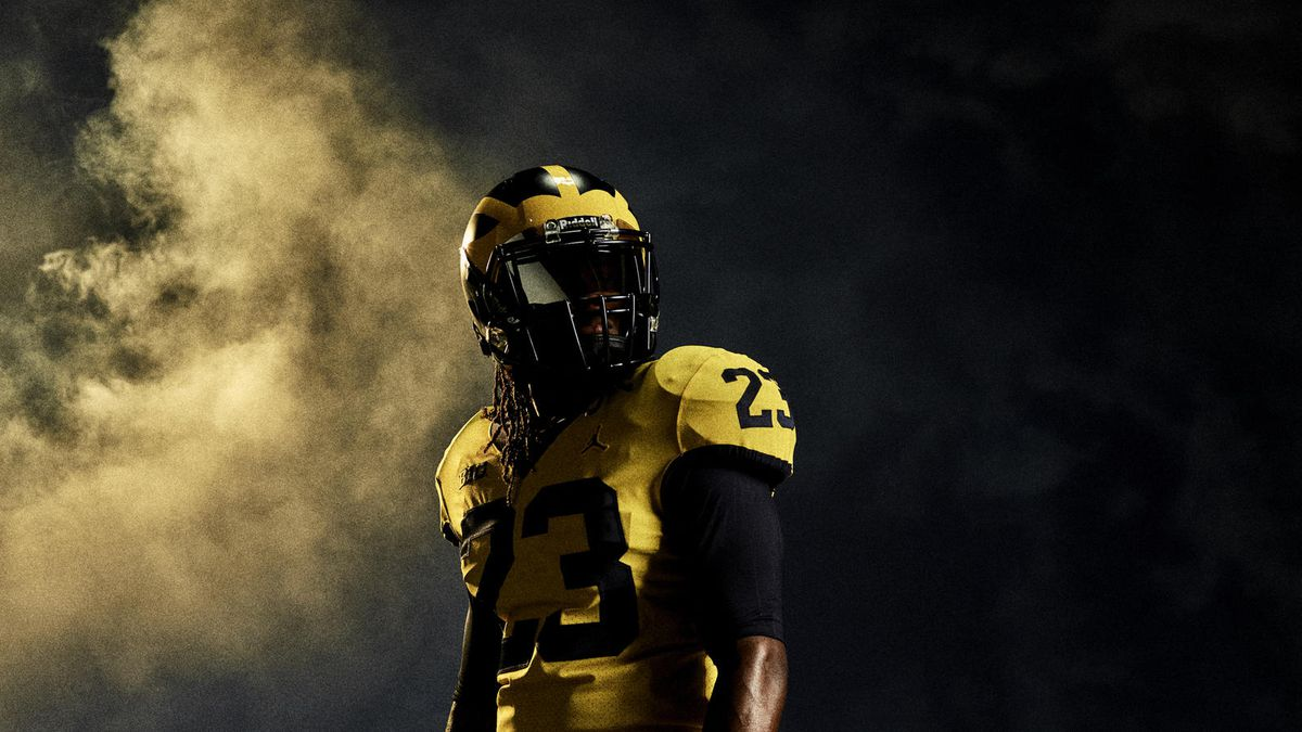 best loved b04e4 be744 LOOK: Florida and Michigan Nike color rush jerseys unveiled ...
