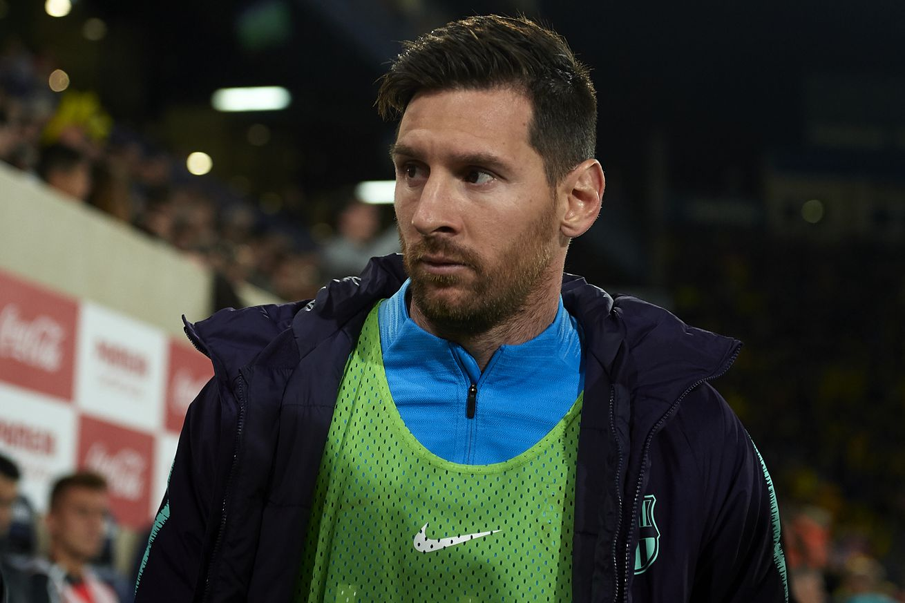 Messi misses Inter Milan clash