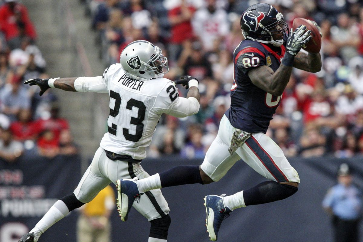 Just another day and catch in the life of Andre Johnson.