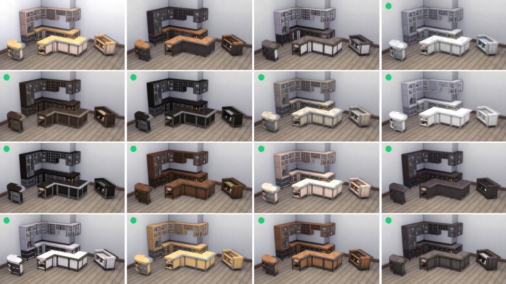 VAULT modular kitchen new swatch variants