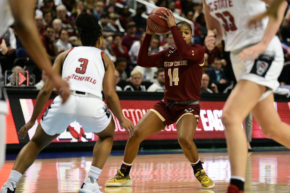 COLLEGE BASKETBALL: MAR 07 ACC Women's Tournament - NC State v Boston College