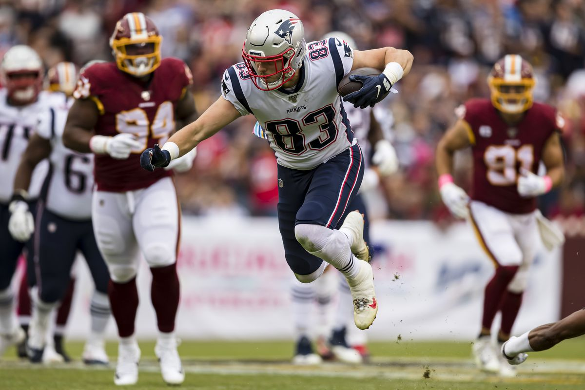 Matt LaCosse was the Patriots' number 1 tight end against the ...