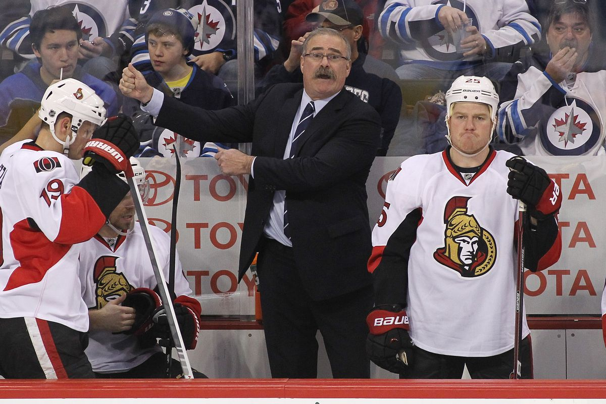 Despite their win, the Ottawa Senators appear to be displeased with the latest ups and downs