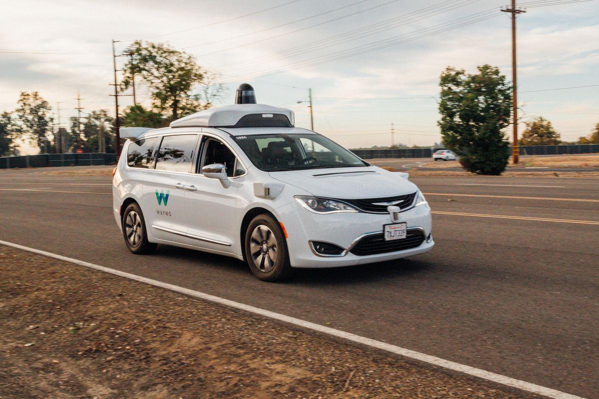 Waymo self-driving minivan involved in crash in Arizona