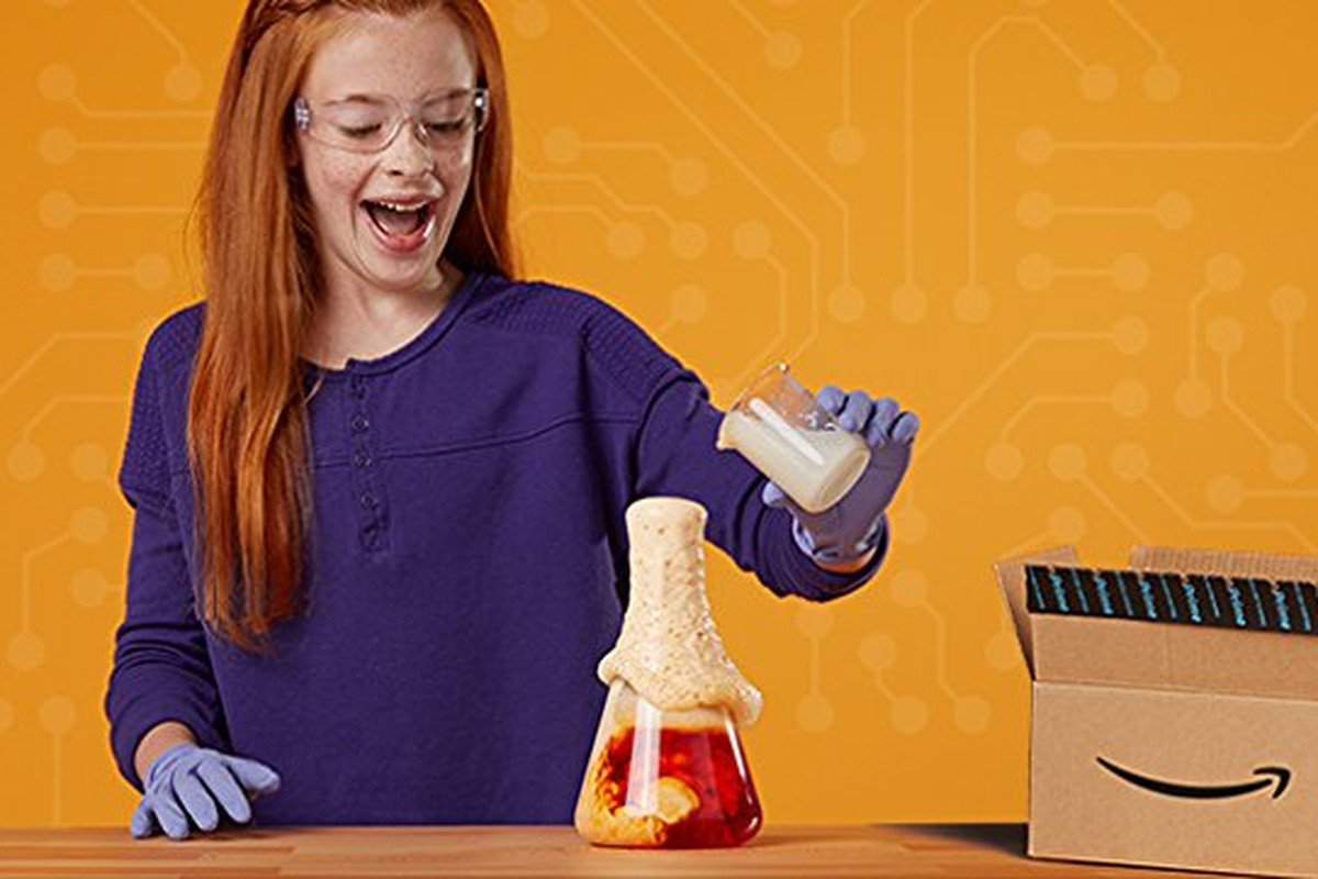 Amazon will now send your kids tech and science toys for $20 a month
