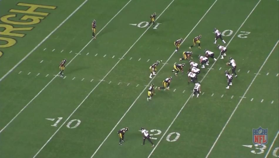 Steelers vs. Ravens all-22 view