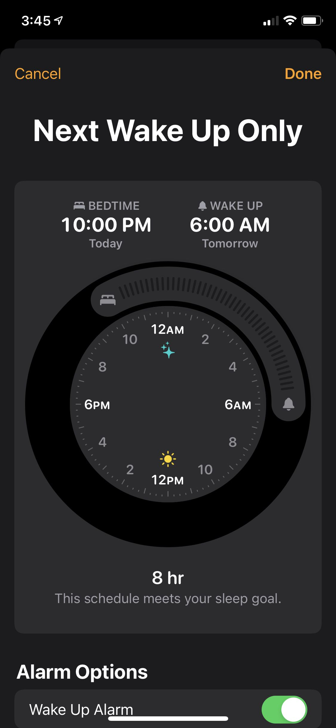 Apple has a new bedtime feature that works but is restrictive when it comes to DND options.