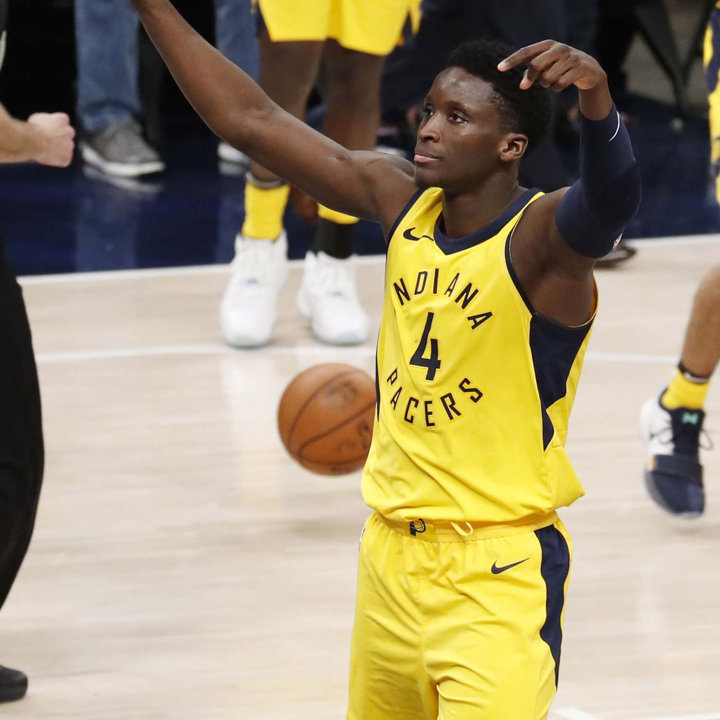 59be98dabdd Victor Oladipo to drive Pace Car for 102nd Indianapolis 500 - Indy Cornrows