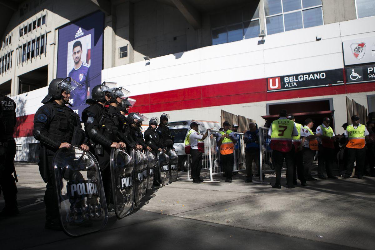 Copa Libertadores final suspended after River Plate fans attack Boca Juniors  team bus a646cc9cdec