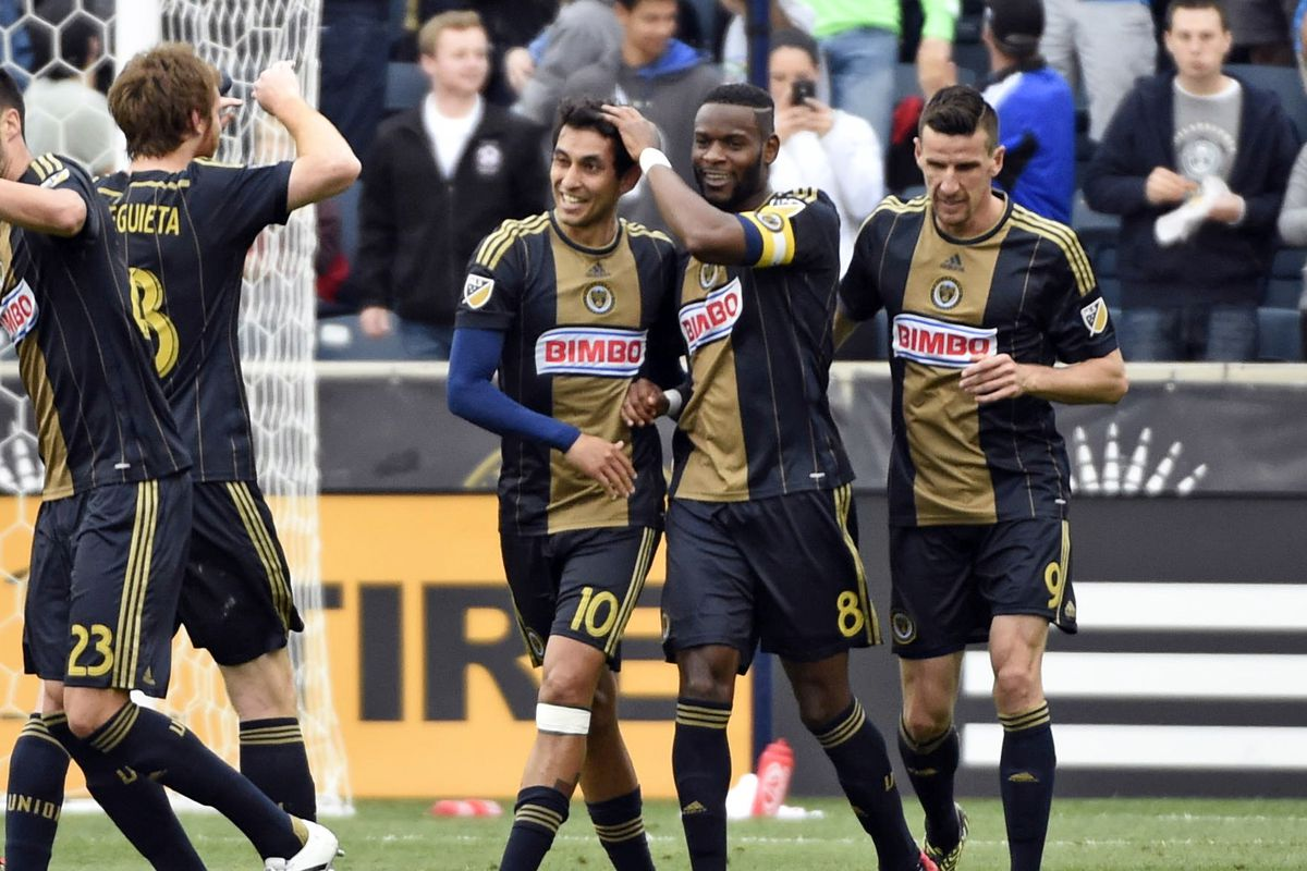 The Union celebrate; something they have not had much reason to do this season