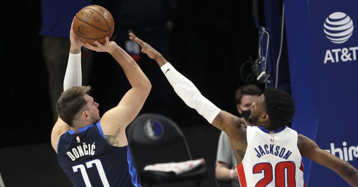 The Mavericks started slow, but the Pistons were just bad enough for it to not come back to bite them.
