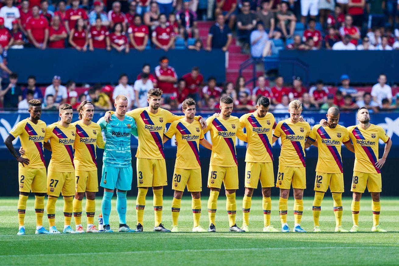 Barcelona?s 2019-20 season so far