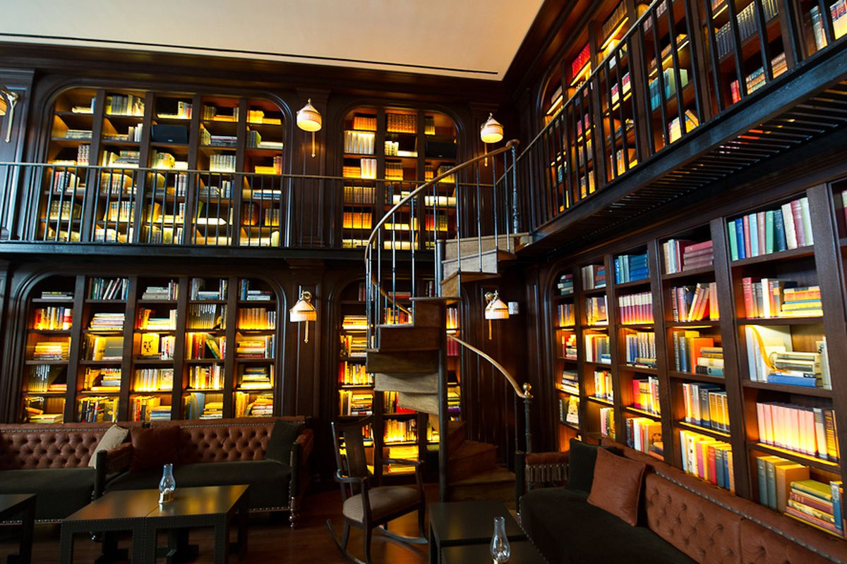 The Library at The Nomad, NYC