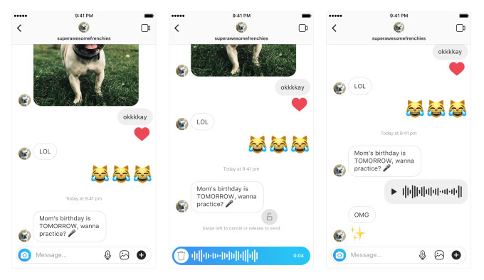 Instagram is bringing voice messaging to your DMs - The Verge