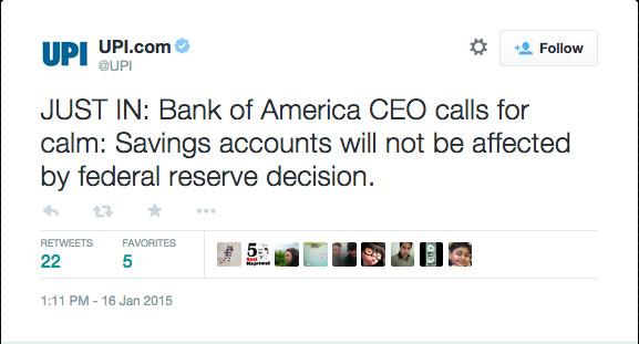 UPI 1:11 Bank of America