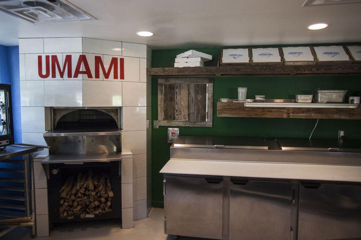 Austin's Umami Mia Pizzeria.