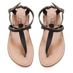 "<b>K.Jacques</b> Pul Noir Buffon Sandals, $240 at <a href=""http://modaoperandi.com/k-jacques/resort-2013/jewelry-1002/item/pul-noir-buffon-sandals-133684"">M'oda O'perandi</a>"
