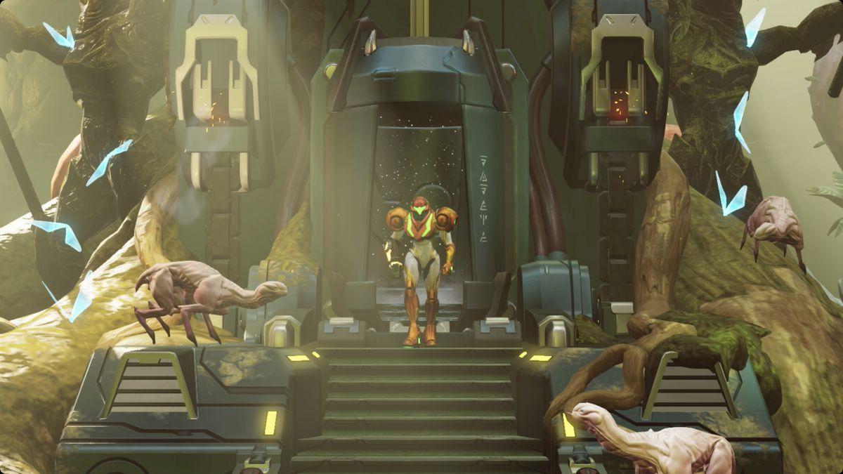 Metroid Dread Ghavoran walkthrough and guide