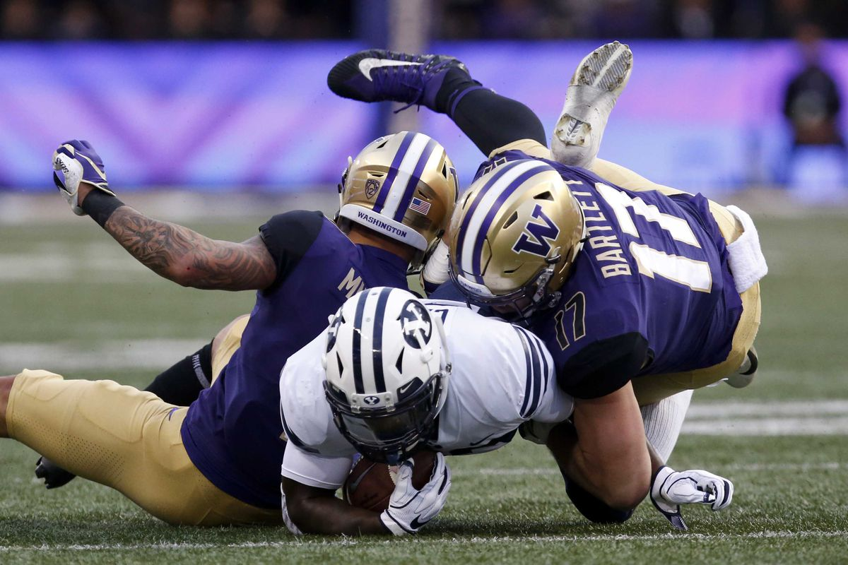 NCAA Football: Brigham Young at Washington
