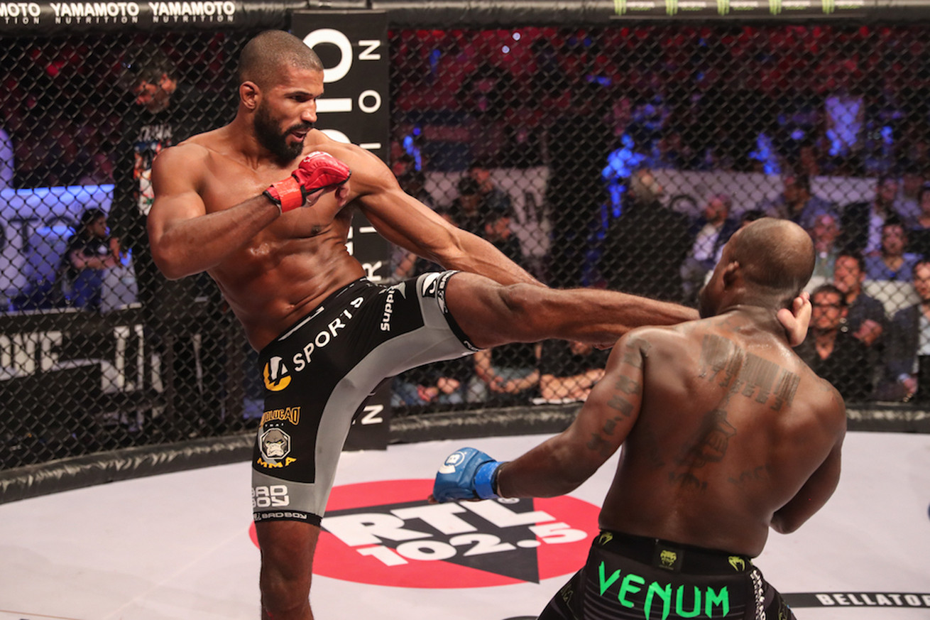 Bellator champ Rafael Carvalho meets Alessio Sakara in Italy, hopes for Gegard Mousasi showdown in early 2018