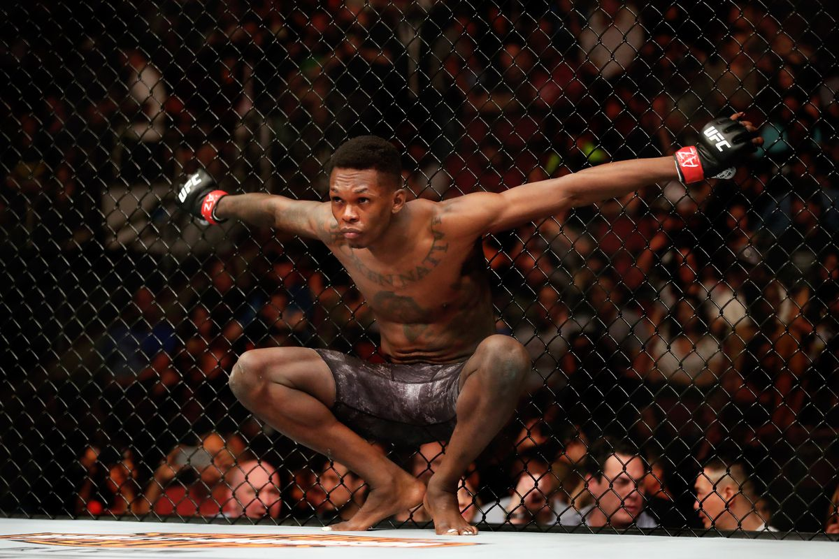 Israel Adesanya faces Marvin Vettori in the main event of UFC 263