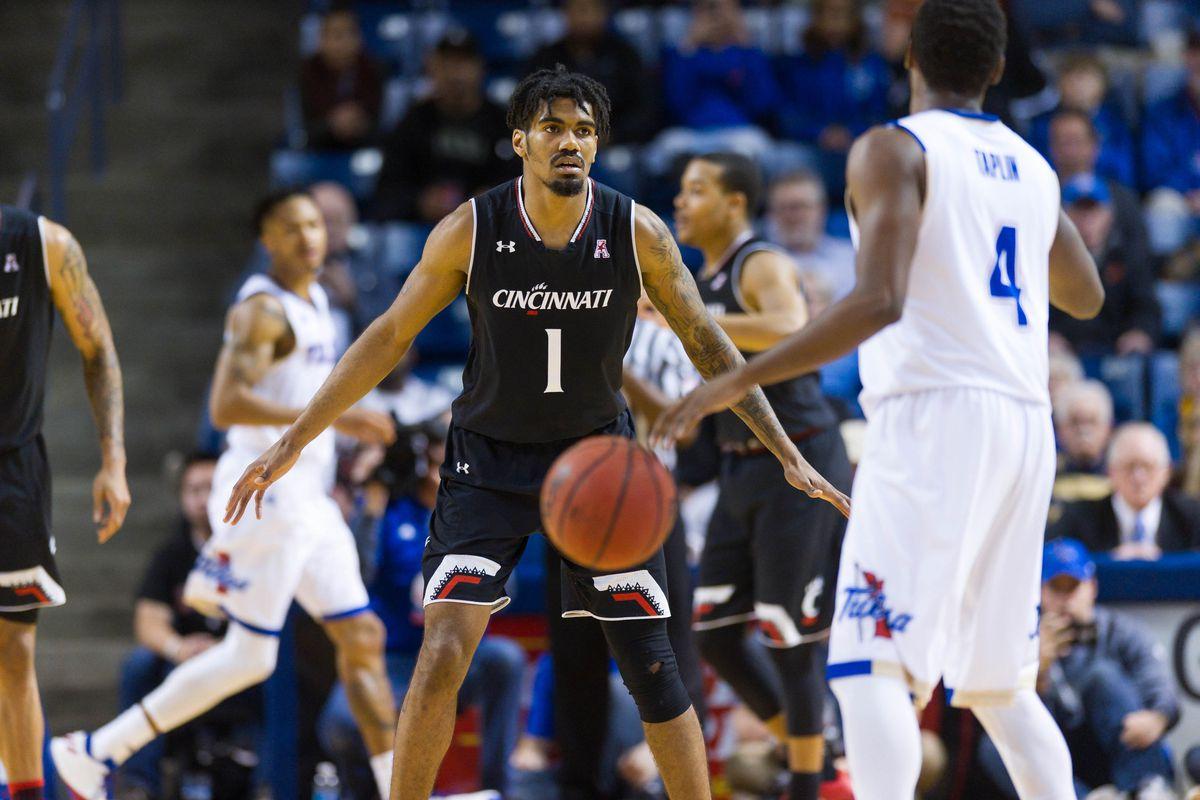 NCAA Basketball: Cincinnati at Tulsa
