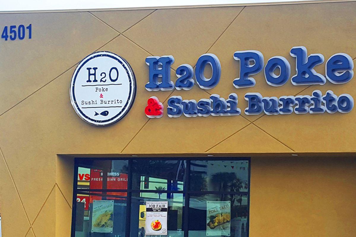 H2O Poke & Sushi Burrito