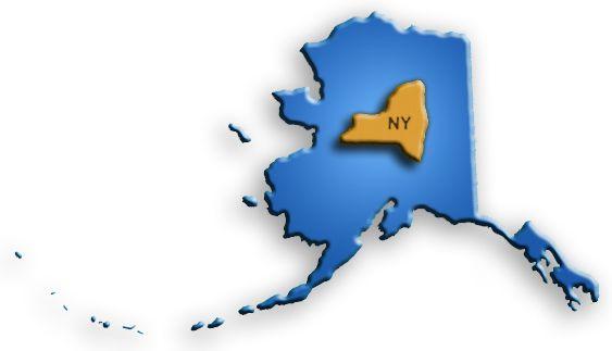 alaska new york size