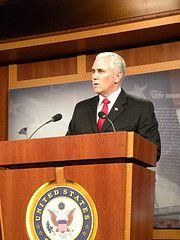 Indiana Gov. Mike Pence (Talk Radio News Service)