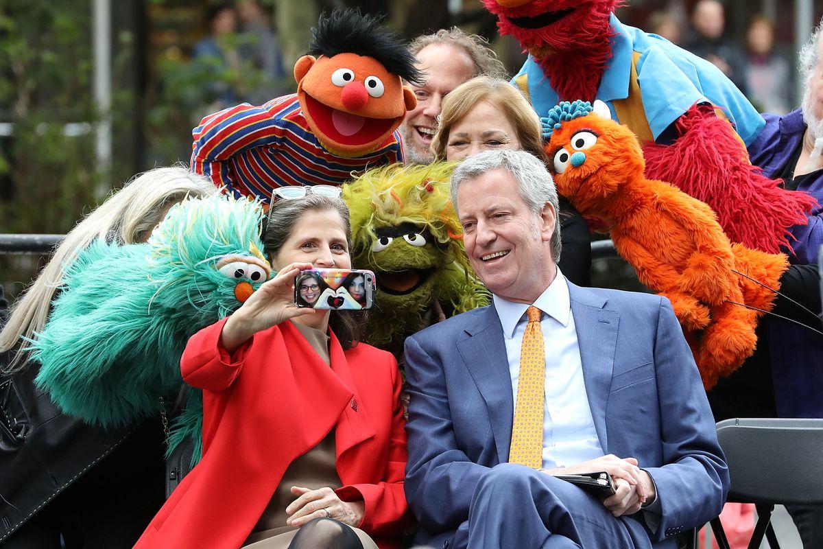 """Sesame Street"" Street Renaming - New York City"