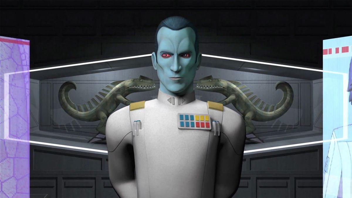 Grand Admiral Thrawn Star Wars Rebels