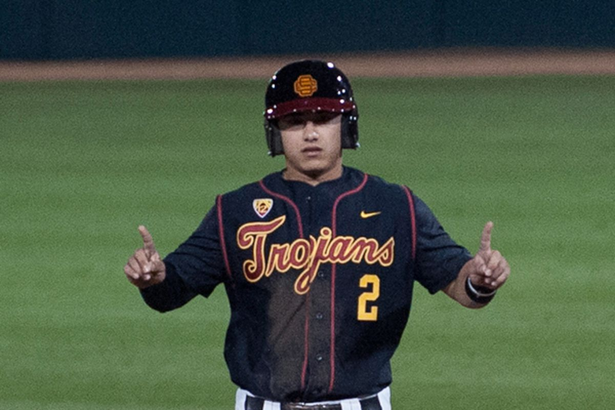 Jeremy Martinez is among the only top recruits on a resurgent Trojan baseball team