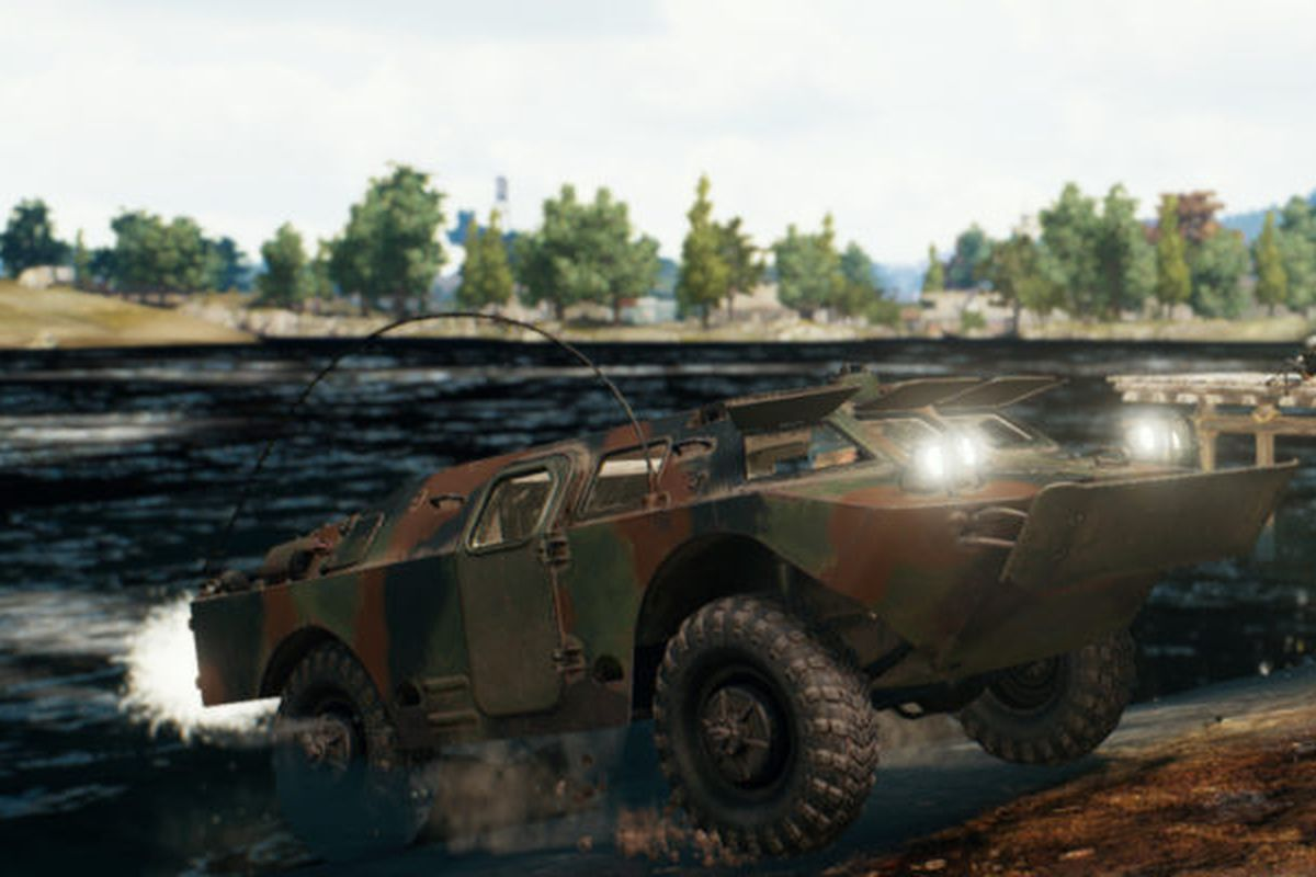 PlayerUnknown's Battlegrounds patch 30 adds a new vehicle