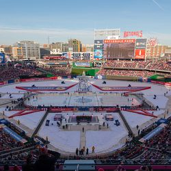 The 2015 NHL Winter Classic at Nationals Park