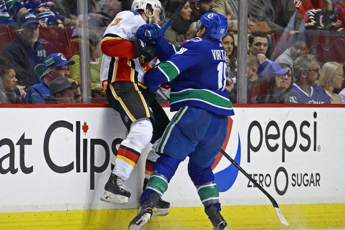 Vancouver Canucks 2018-19 Season Review: Jake Virtanen