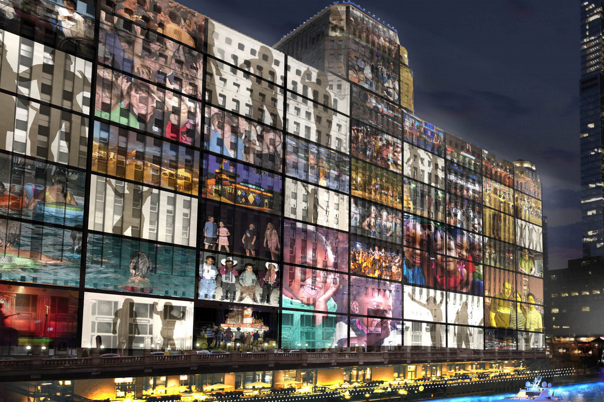 Plan to light up Chicago's Merchandise Mart is moving ...