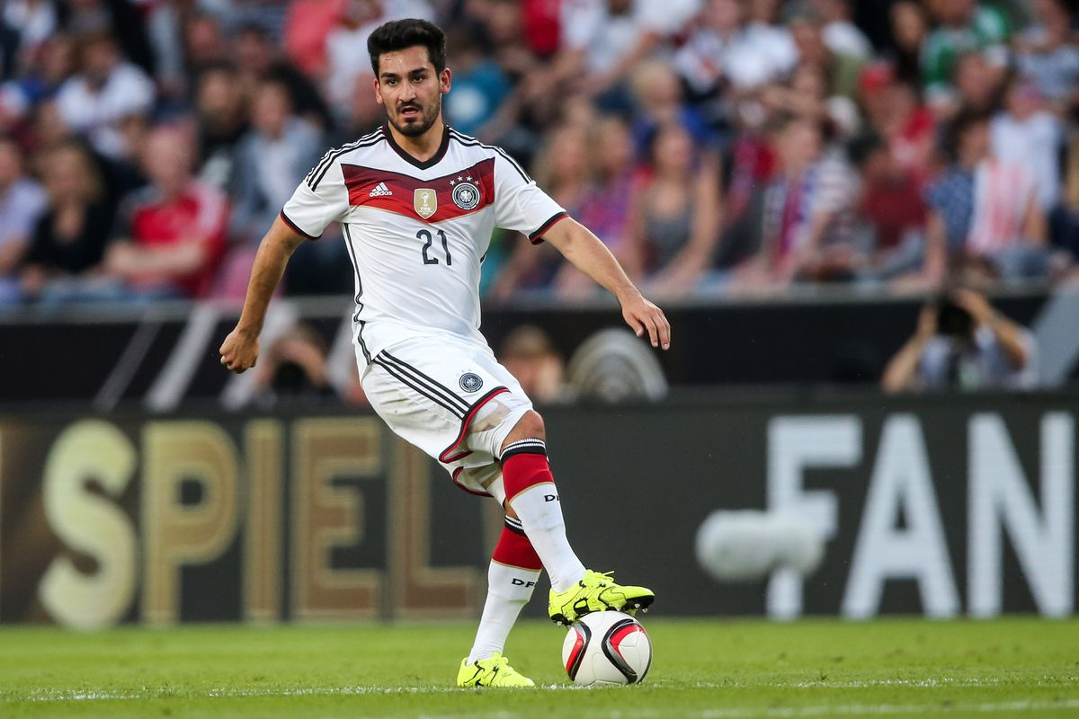 Gundogan has made 11 appearances for the German national team while becoming a standout at Borussia Dortmund.