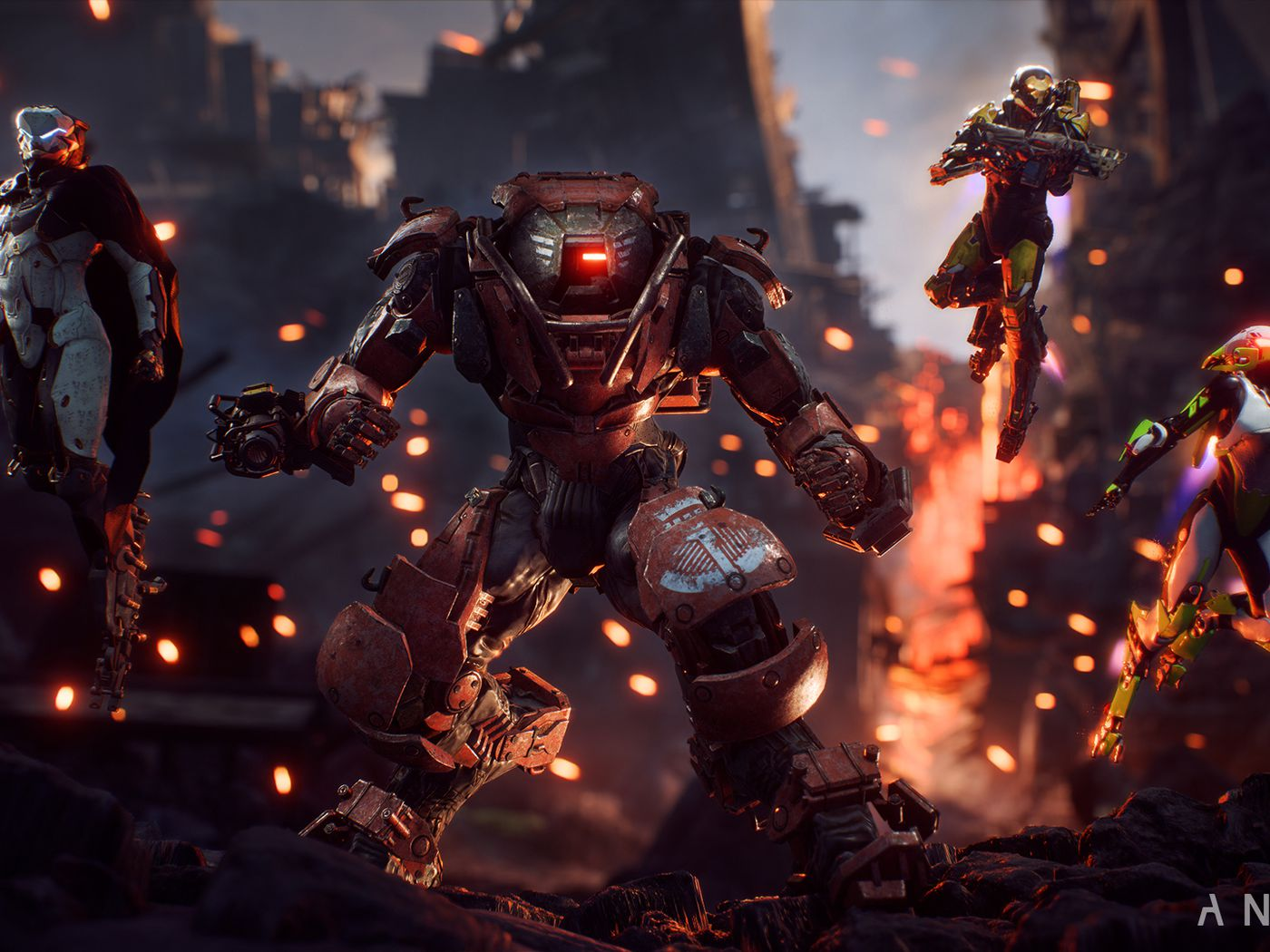 Bioware S Anthem Is An Ever Changing Sci Fi World Built For