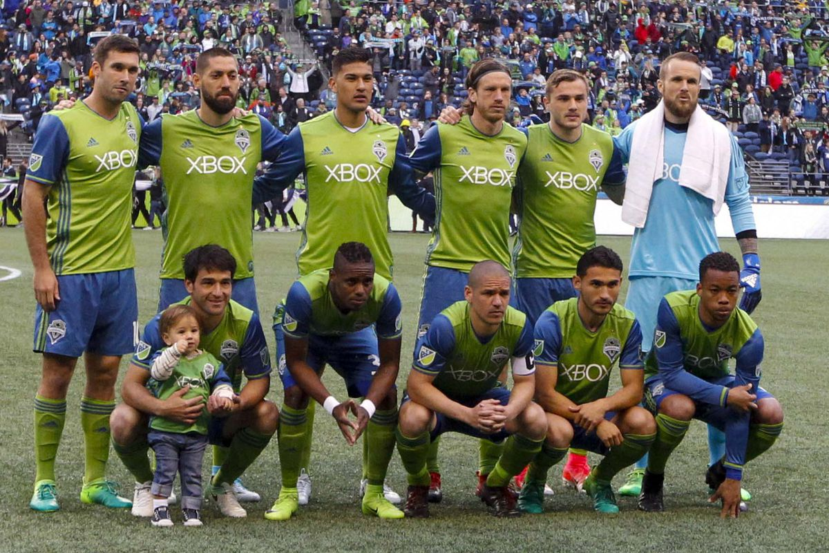 MLS: New England Revolution at Seattle Sounders FC