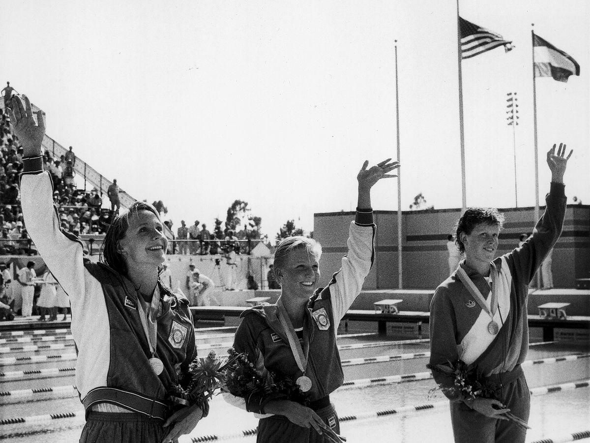 1984 olympic swimming medalists