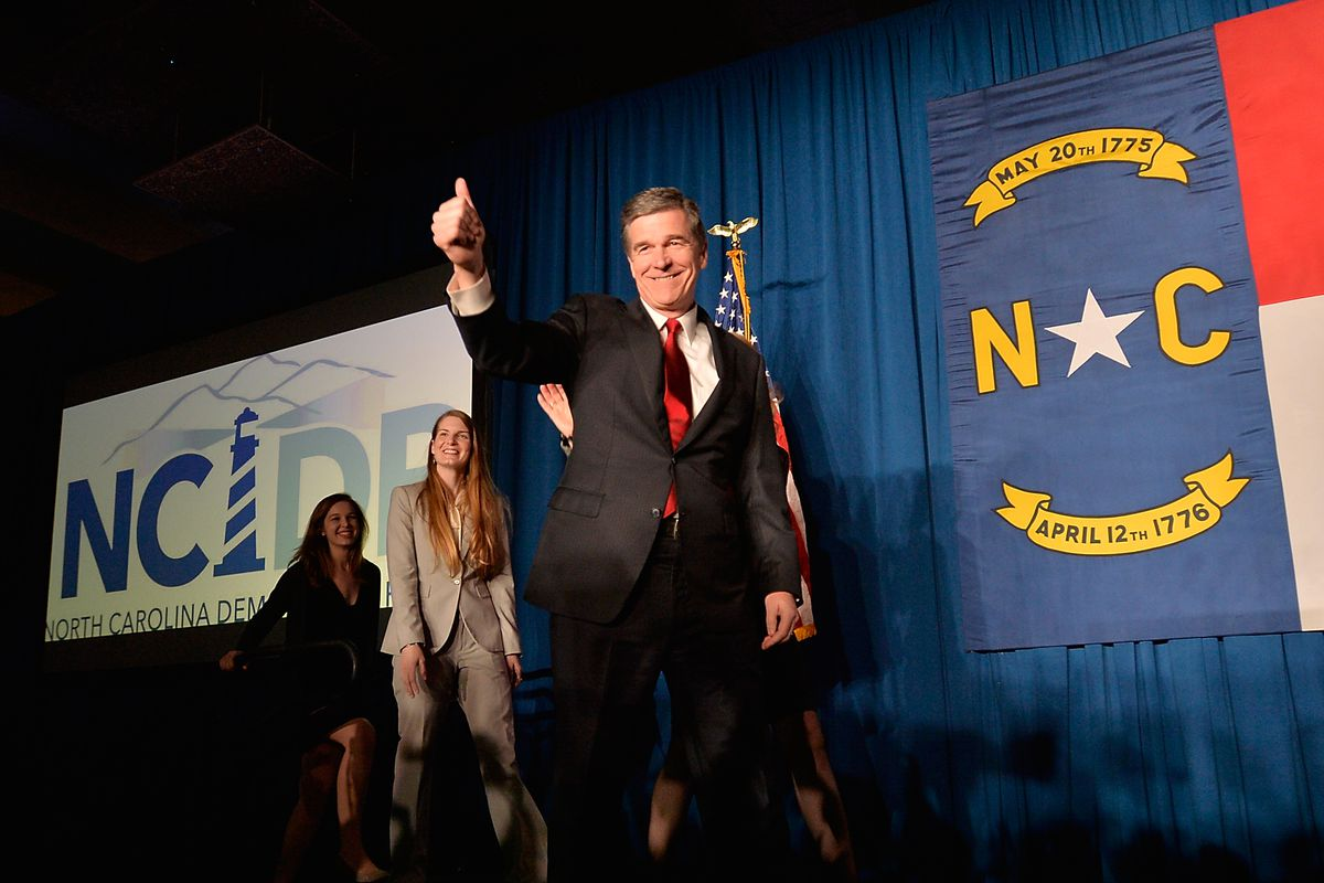 North Carolina Governor Roy Cooper has made fighting climate change a key part of his administration, pulling the state in the opposite direction of some of its past policies.