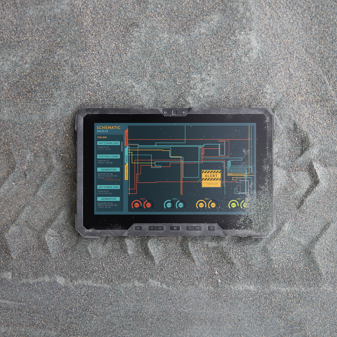 Dells First Rugged Tablet Runs Windows And Can Be Thrown Out Of One Panasonic Ptz Camera Wiring Diagram Too The Verge