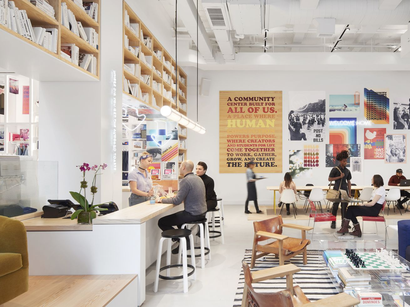 """WeWork claims it benefits neighborhoods. Does it"""""""