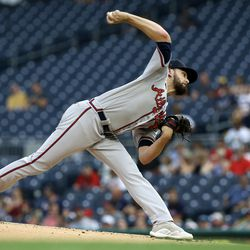 Ian Anderson, Braves starting pitcher on Sunday