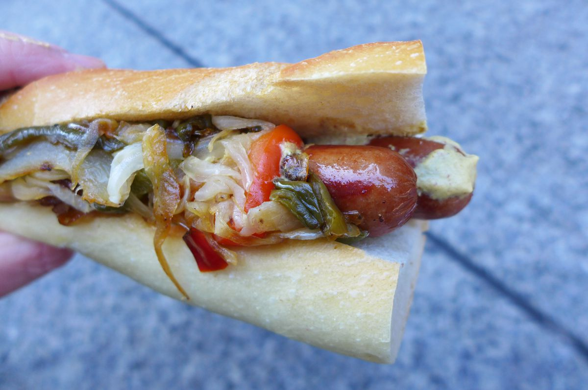 Double dog hero at Dominic's