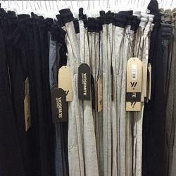 Men's sweatpants, $60